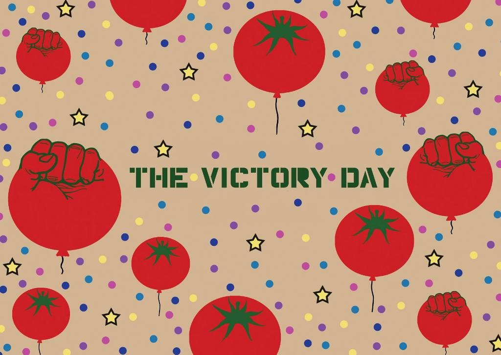 The victory day_